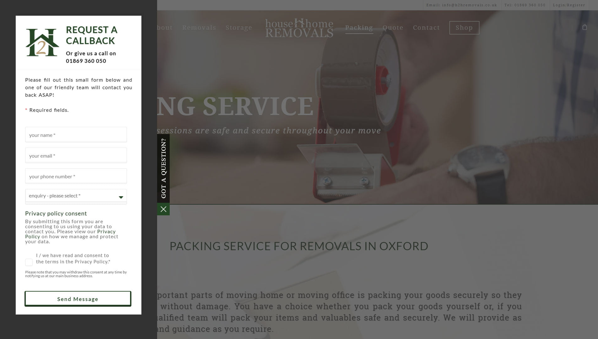 House 2 Home Removals