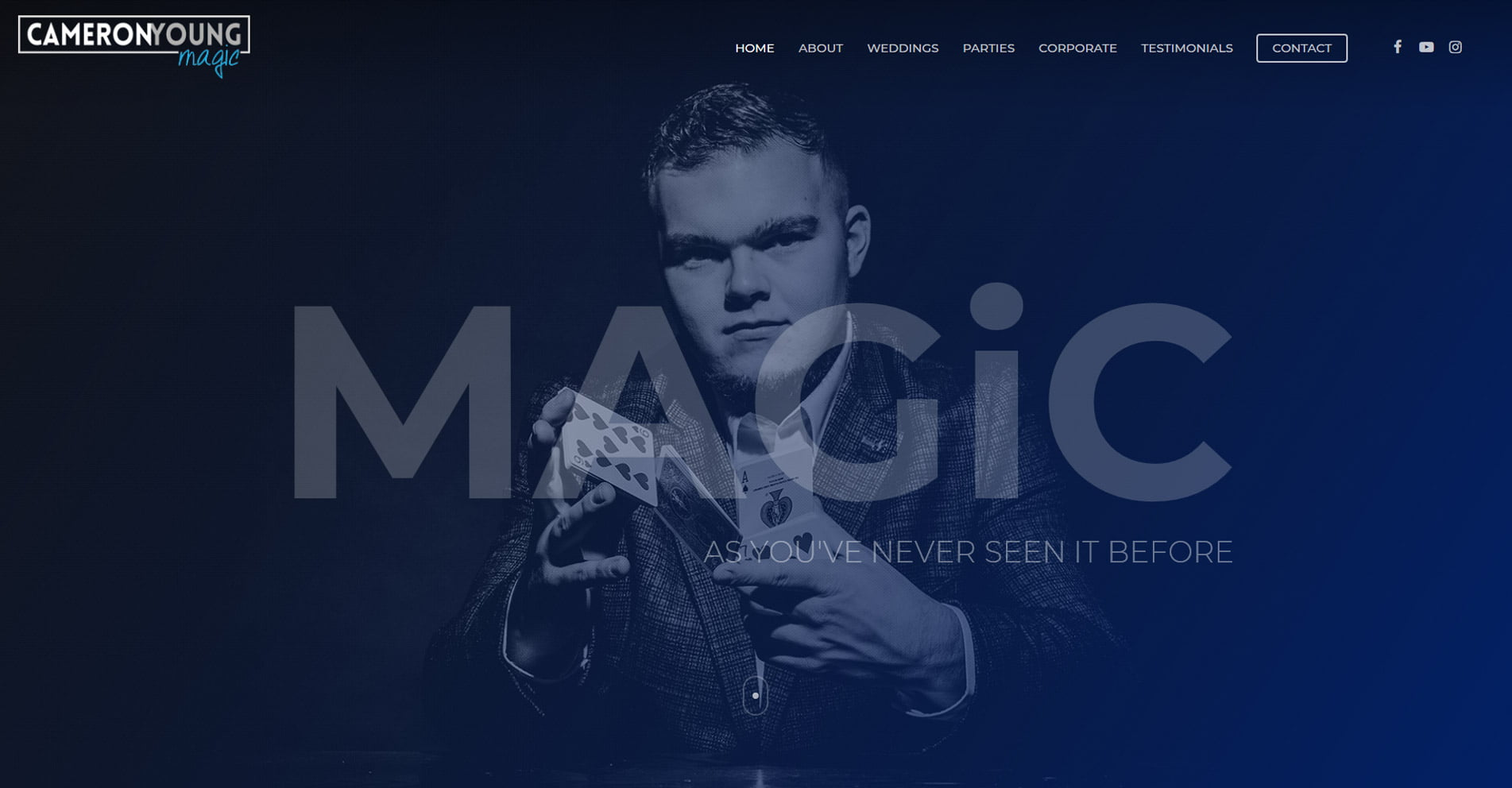 Cameron Young Magic   Designed by HOWiE
