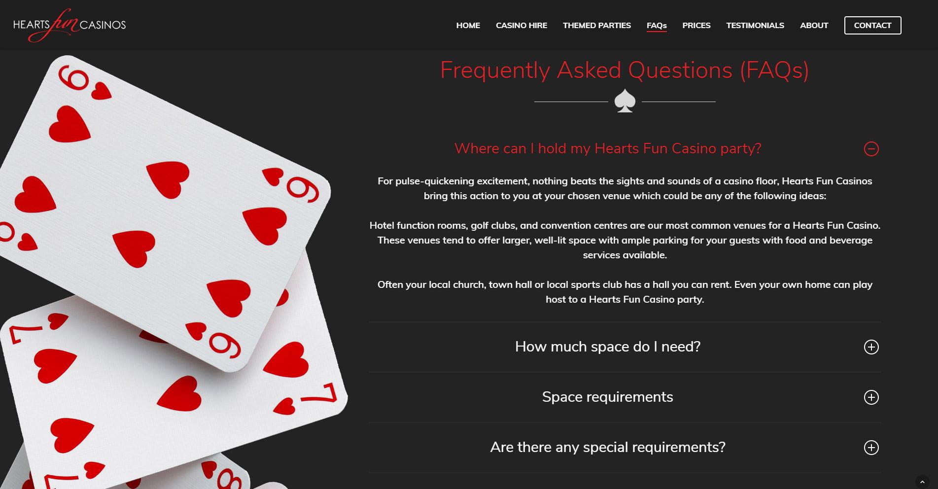 Hearts Fun Casinos