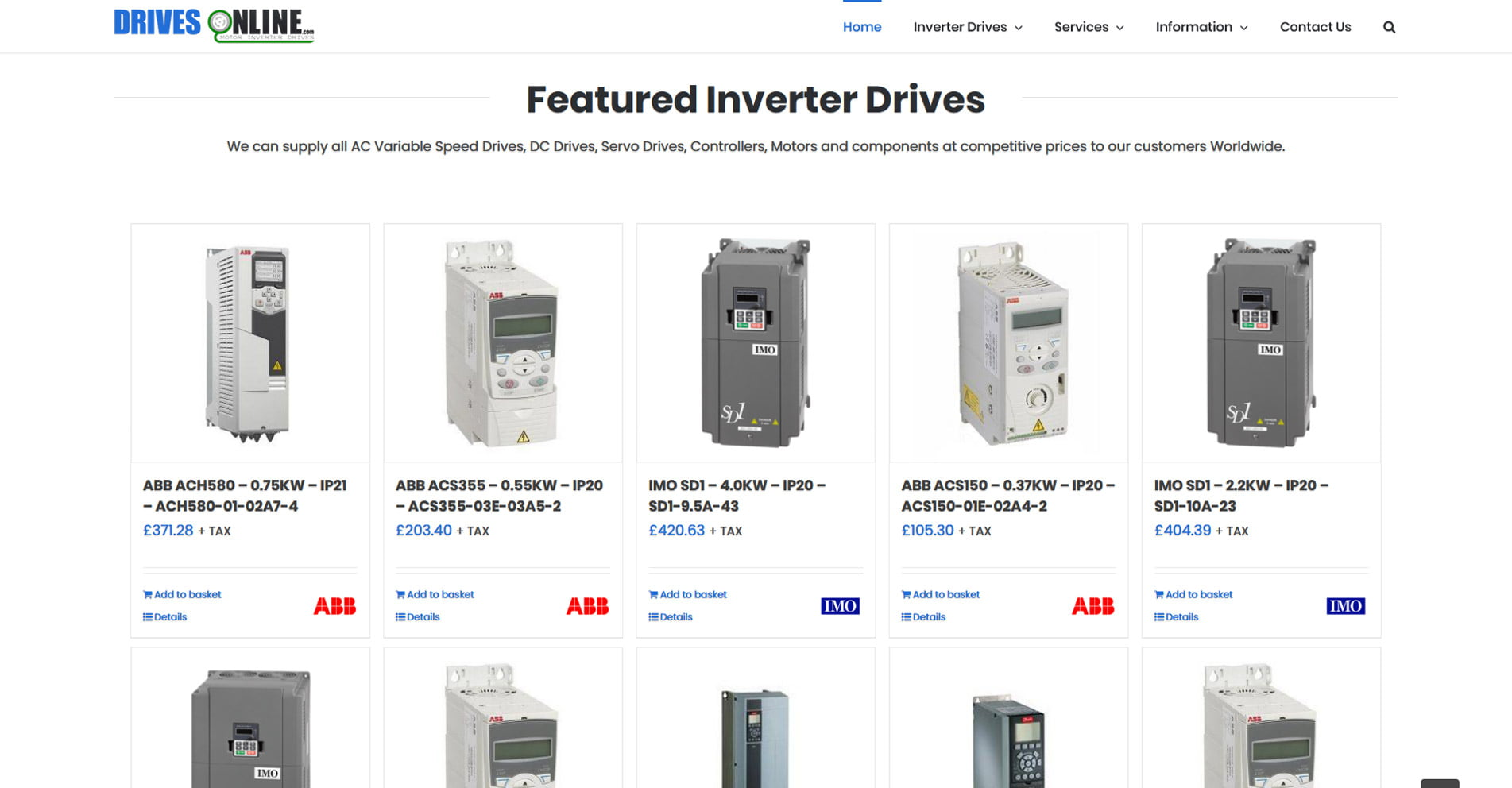 Drives Online | Designed by HOWiE