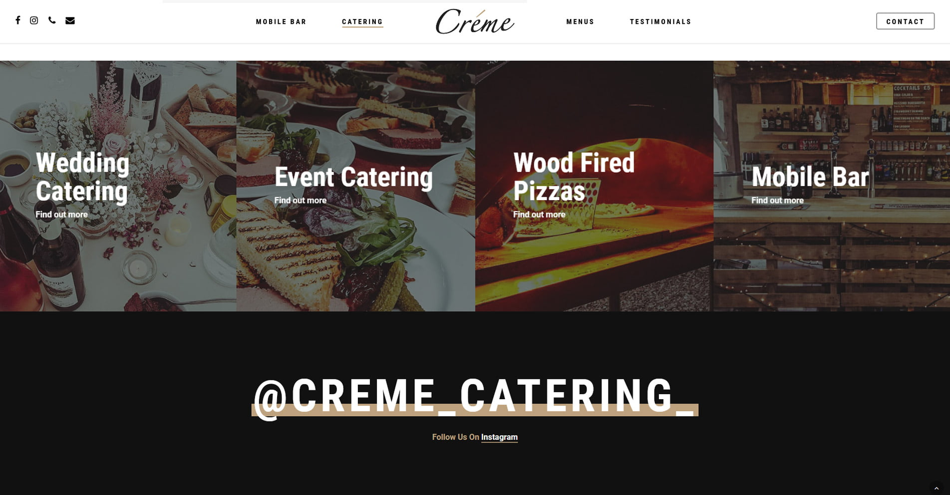 Creme Catering
