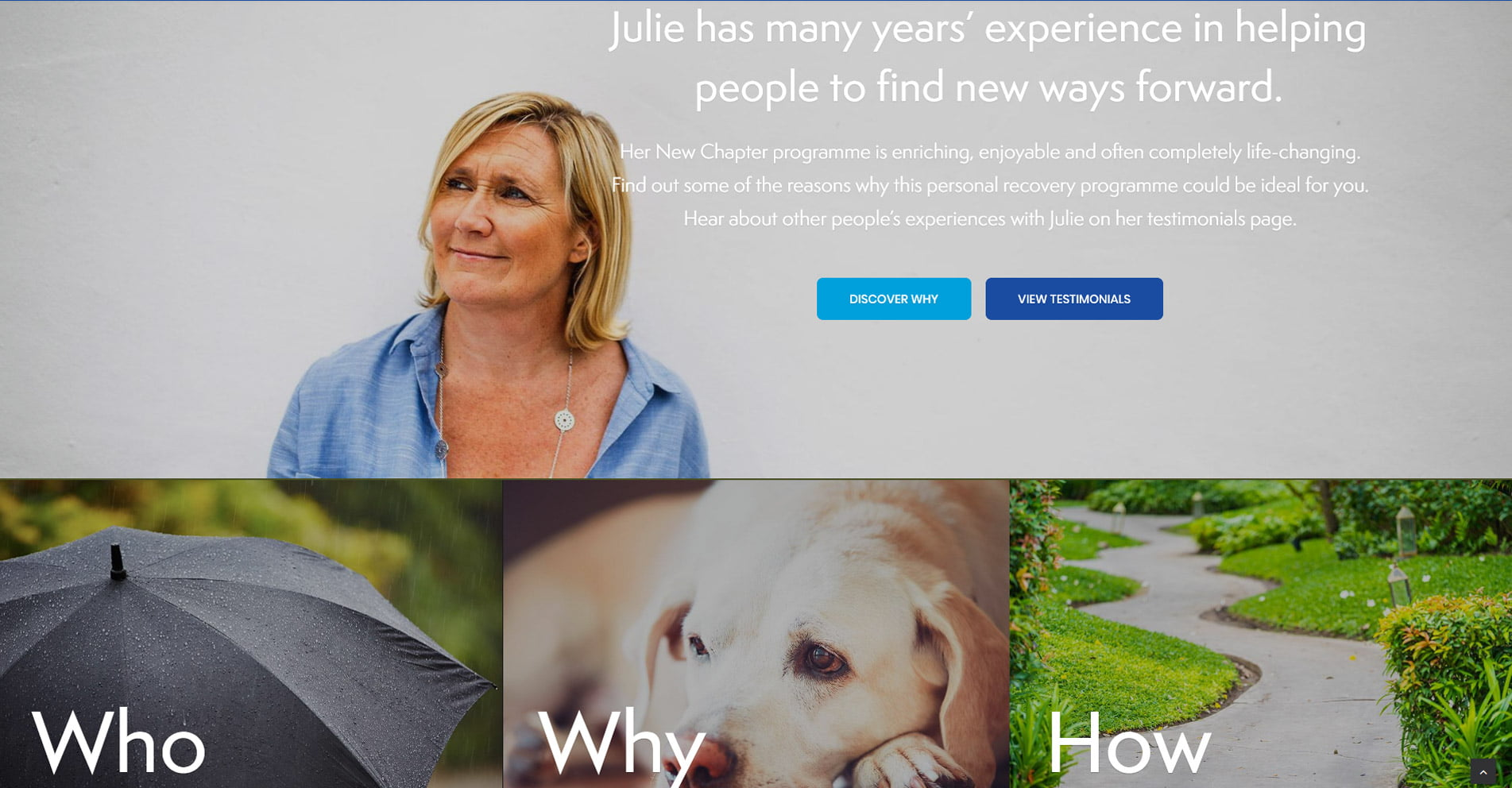 Julie New | Designed by HOWiE